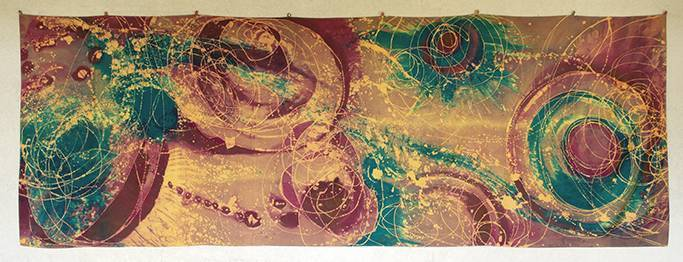 Kido Emiliani - Kido: il suo batik, la sua arte - Cerchi astrali