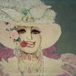 Kido Emiliani - Kido: il suo batik, la sua arte - Rosa in bocca